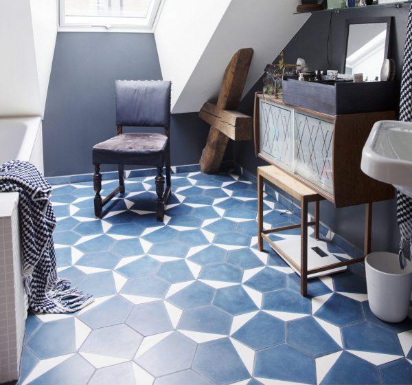 Marrakech Design Casa Marine/Bone.  Edinburgh Tile Studio.