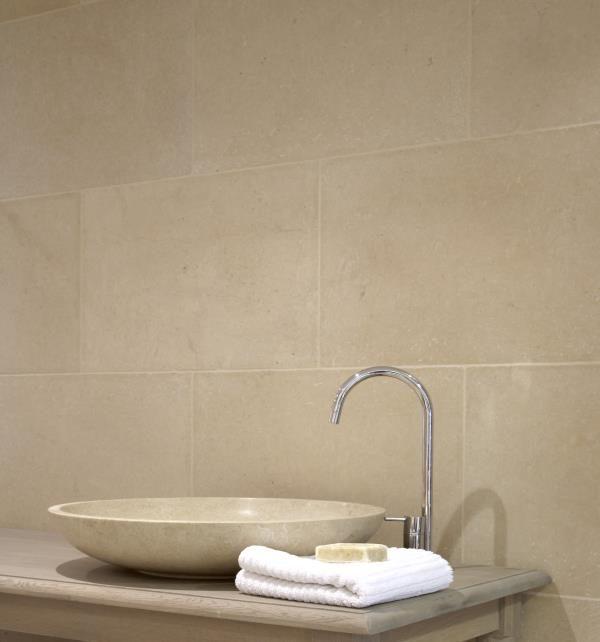 Ca' Pietra Fontaine Limestone. Edinburgh Tile Studio.