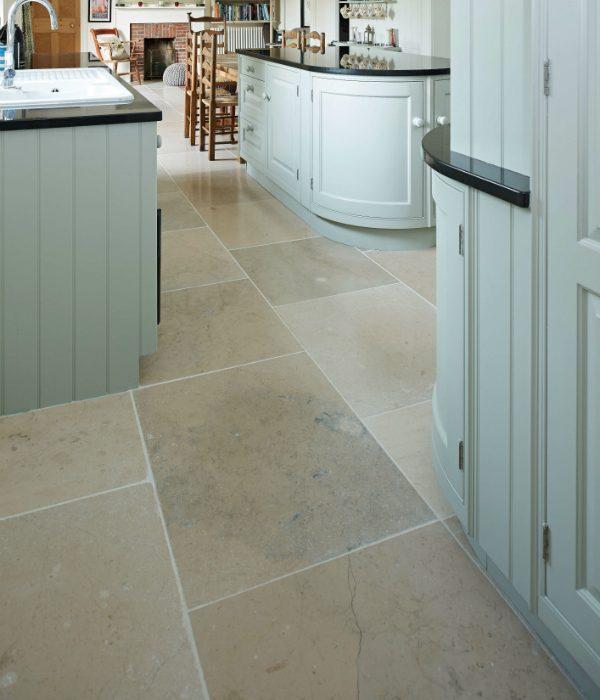 Ca' Pietra Charterhouse limestone.  Edinburgh Tile Studio