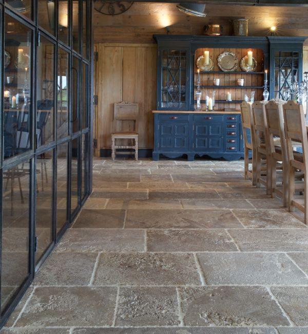 Ca' Pietra Medieval Bourgogne. Edinburgh Tile Studio.