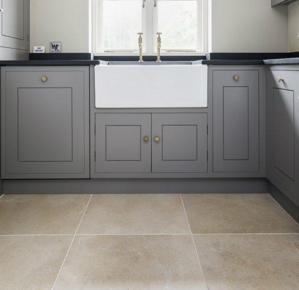 Ca' Pietra Neranjo Limestone, velvet, interior shot, Edinburgh Tile Studio