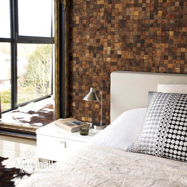 Marshalls Argo Mosaic, bedroom, Edinburgh Tile Studio