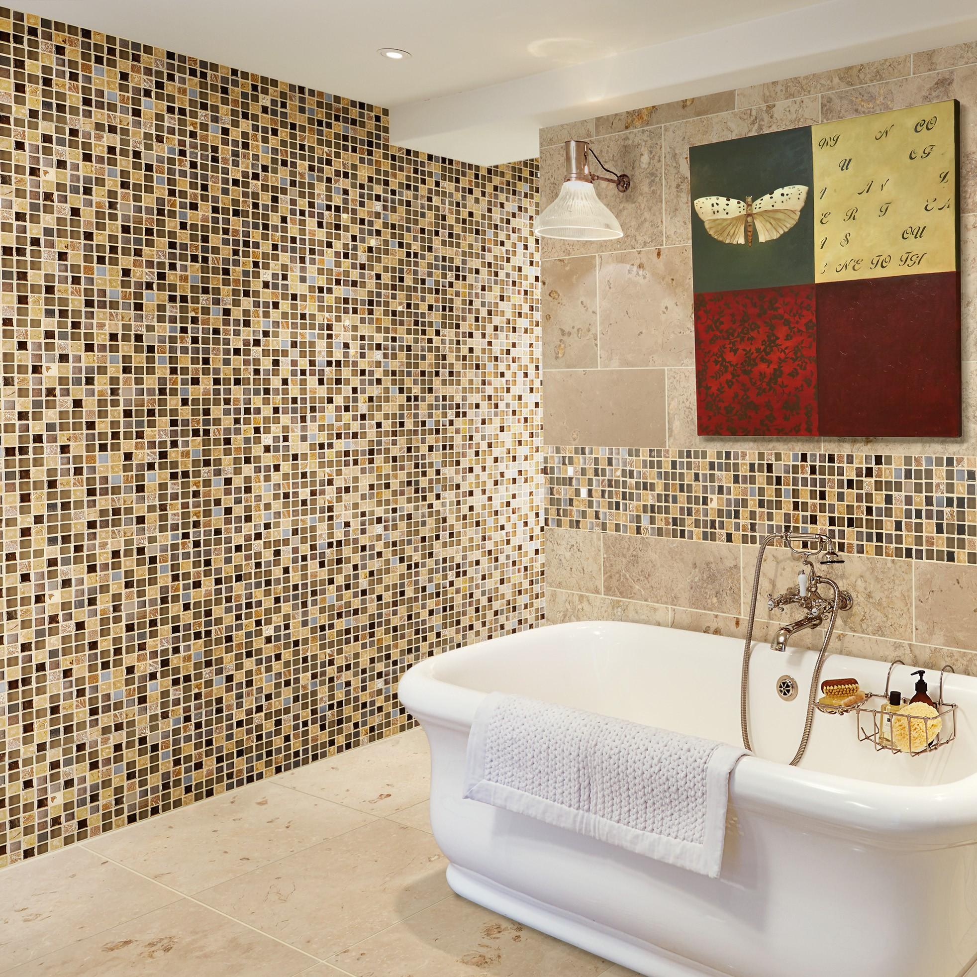 Mixed Material Mosaics