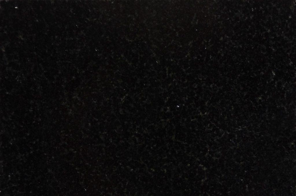 Absolute Black granite swatch, Edinburgh Tile Studio