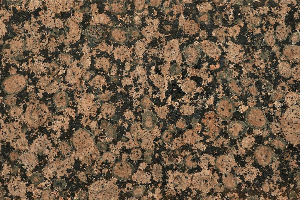 Baltic Brown granite swatch, Edinburgh Tile Studio