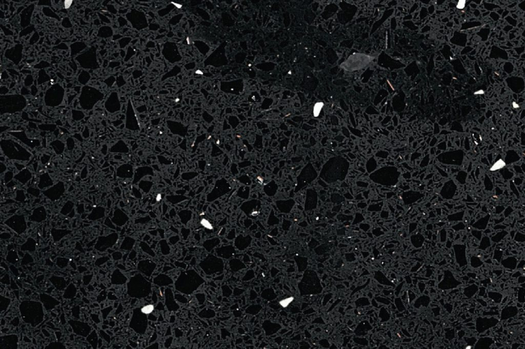 Black Starlight granite swatch, Edinburgh Tile Studio
