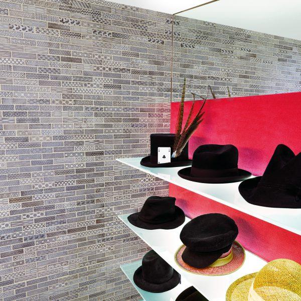 Marshalls Buckingham Mosaic, shop shot, Edinburgh Tile Studio
