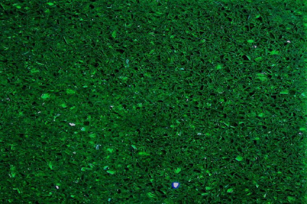 Emerald Starlight granite swatch, Edinburgh Tile Studio