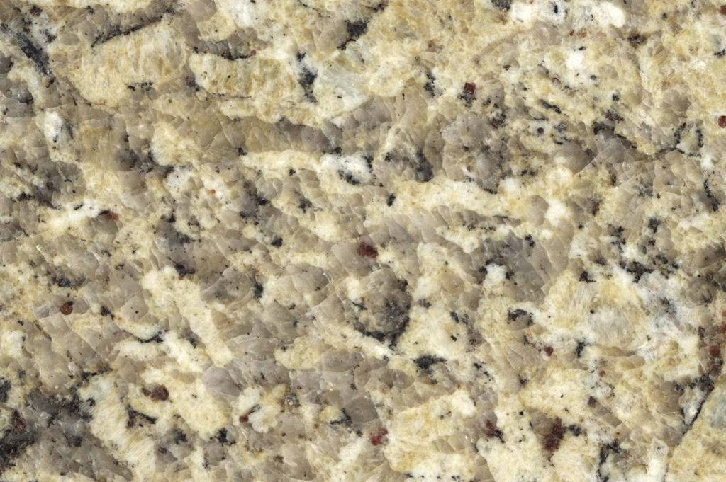 Giallo Imperial granite swatch, Edinburgh Tile Studio
