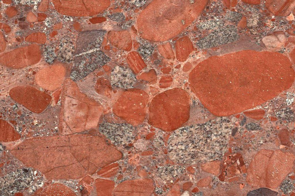 Rosa Marinace granite swatch, Edinburgh Tile Studio