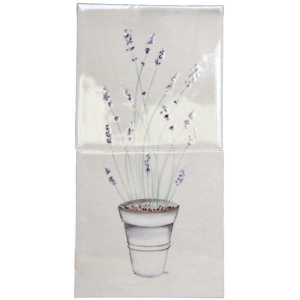 Marlborough Planters & Sprigs, Lavender Planter, Edinburgh Tile Studio