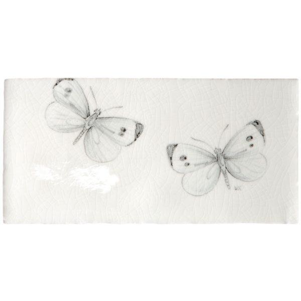Marlborough Butterflies, Butterfly Border A, Edinburgh Tile Studio