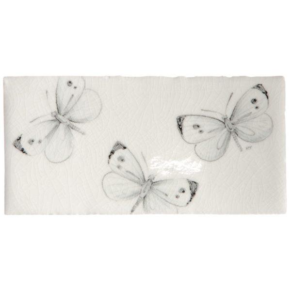 Marlborough Butterflies, Butterfly Border B, Edinburgh Tile Studio