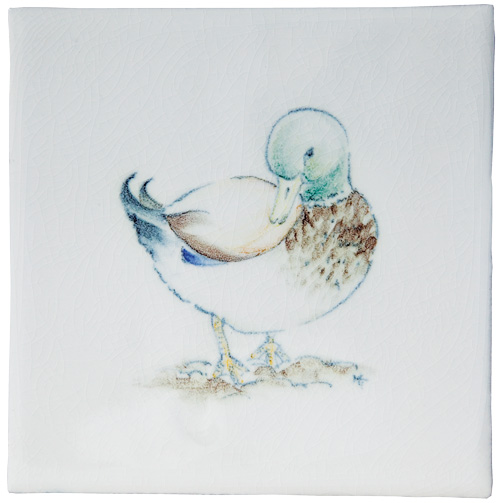 Marlborough Animals With Attitude, Drake on Marlborough Neutrals White, Edinburgh Tile Studio