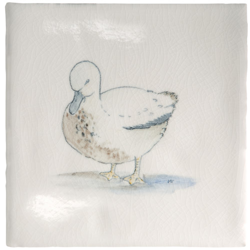 Marlborough Animals With Attitude, Duck, Edinburgh Tile Studio