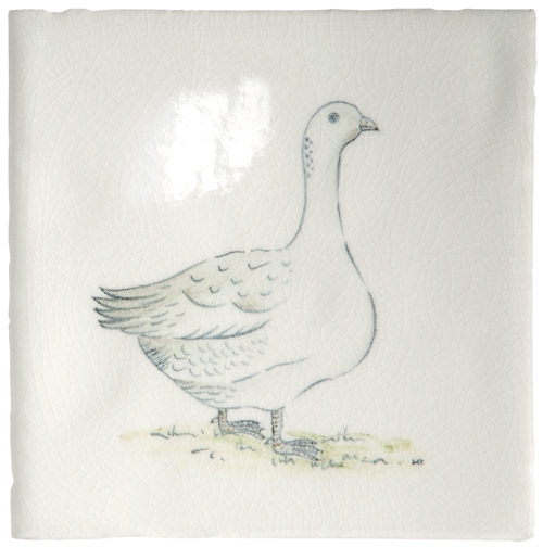 Marlborough Animals With Attitude, Goose, Edinburgh Tile Studio