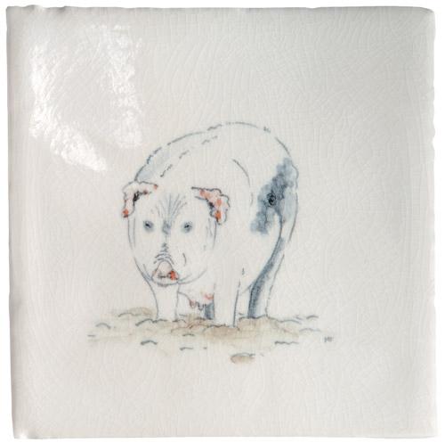 Marlborough Animals With Attitude, Old Spot Pig, Edinburgh Tile Studio