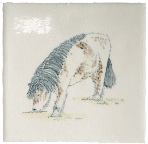 Marlborough Animals With Attitude, Shetland Pony, Edinburgh Tile Studio
