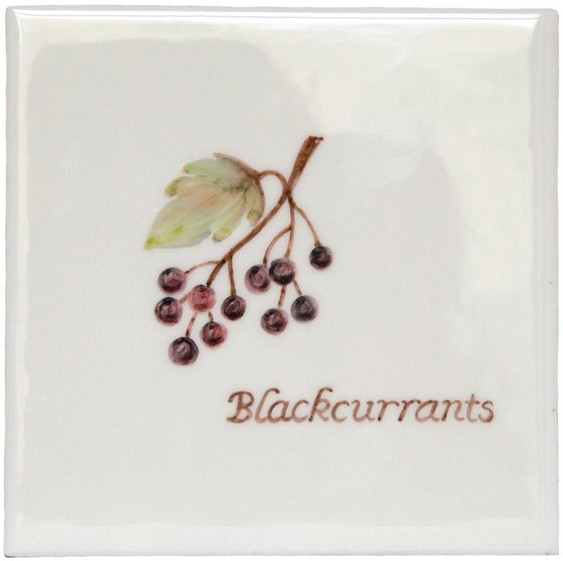 Marlborough Fruit, Blackcurrants, Edinburgh Tile Studio