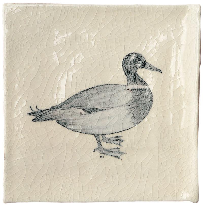 Marlborough Farmland Birds, design 2, Edinburgh Tile Studio