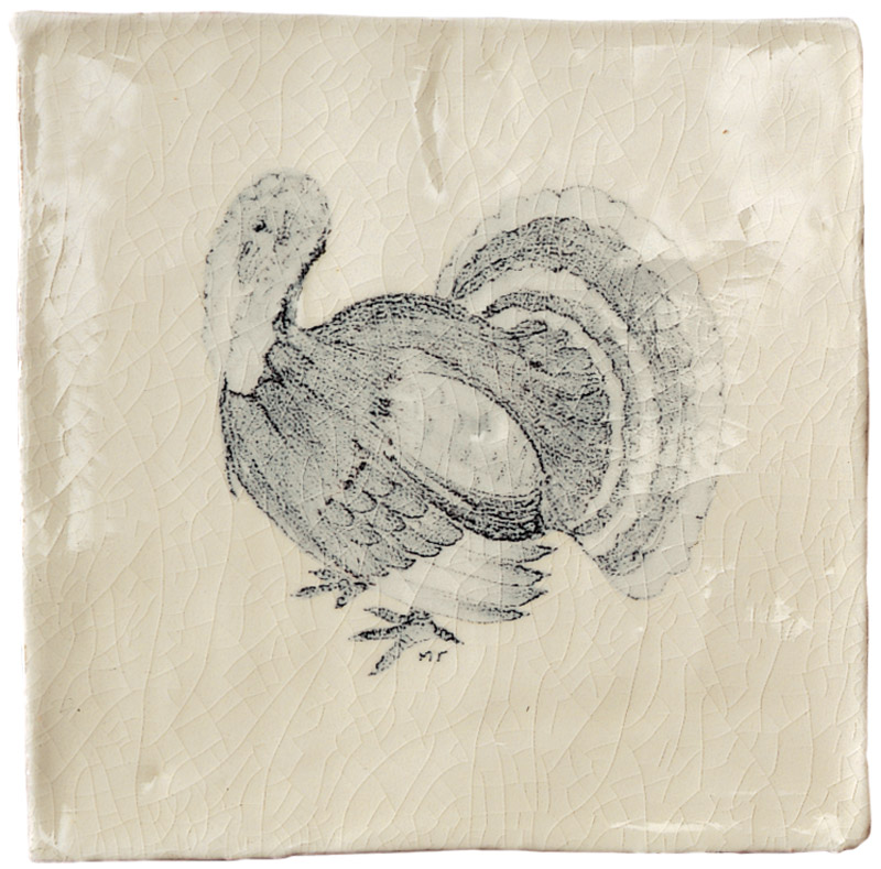 Marlborough Farmland Birds, design 5, Edinburgh Tile Studio