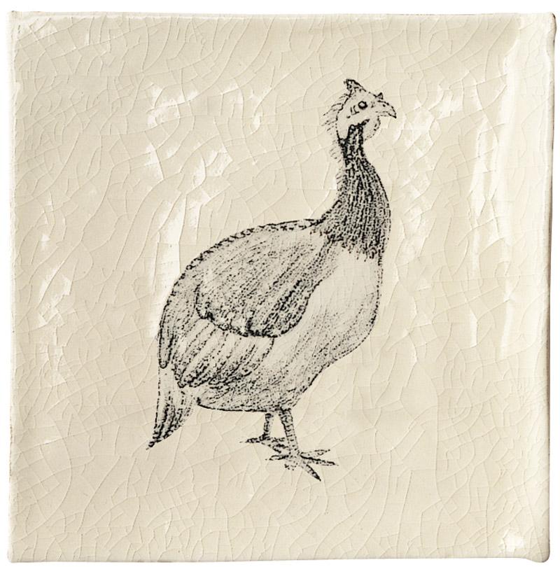 Marlborough Farmland Birds, design 1, Edinburgh Tile Studio