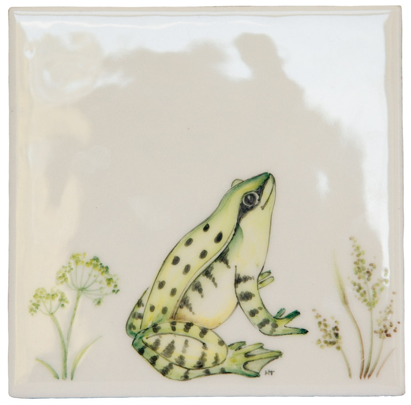 Marlborough Meadow / Frogs, Frog 1, Edinburgh Tile Studio