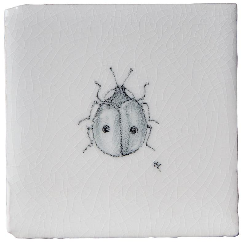 Marlborough Insects & Tacos, design 3, Edinburgh Tile Studio