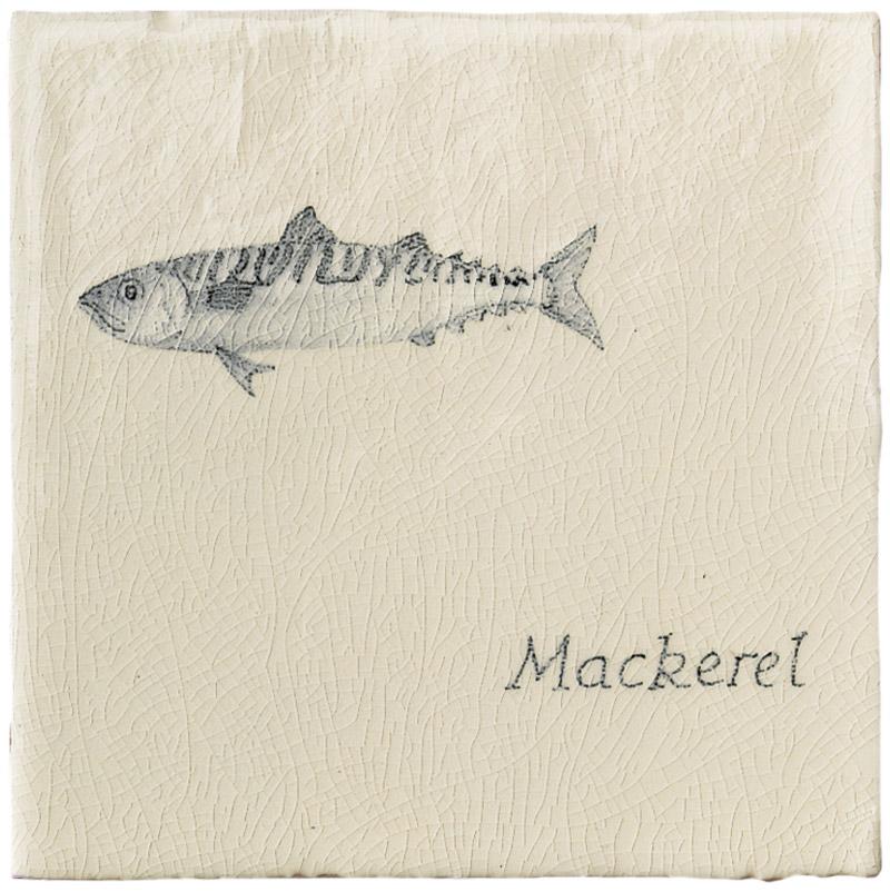 Marlborough Fish, Mackerel, Edinburgh Tile Studio