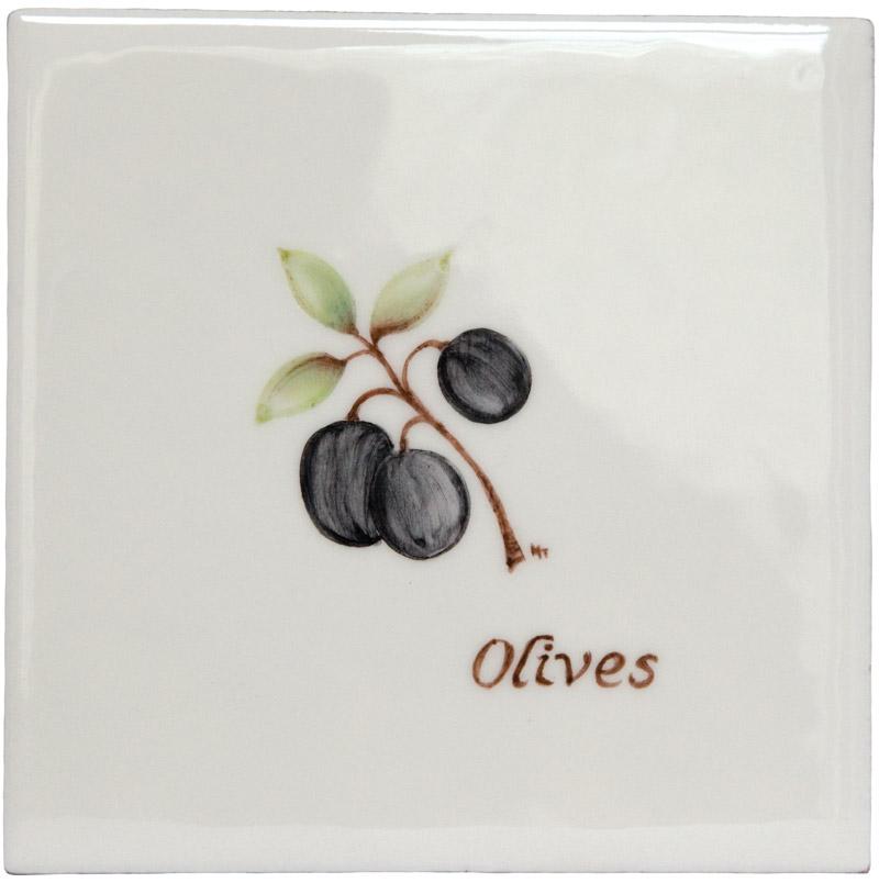 Marlborough Fruit, Olives, Edinburgh Tile Studio