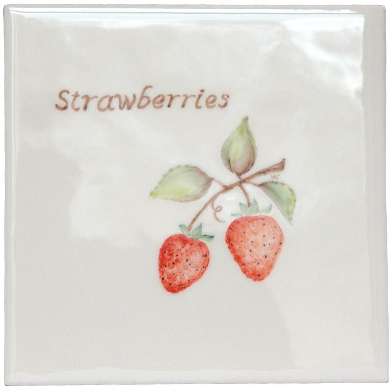 Marlborough Fruit, Strawberries, Edinburgh Tile Studio