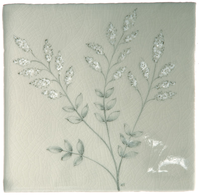 Marlborough Wild Grasses, design 2, Edinburgh Tile Studio