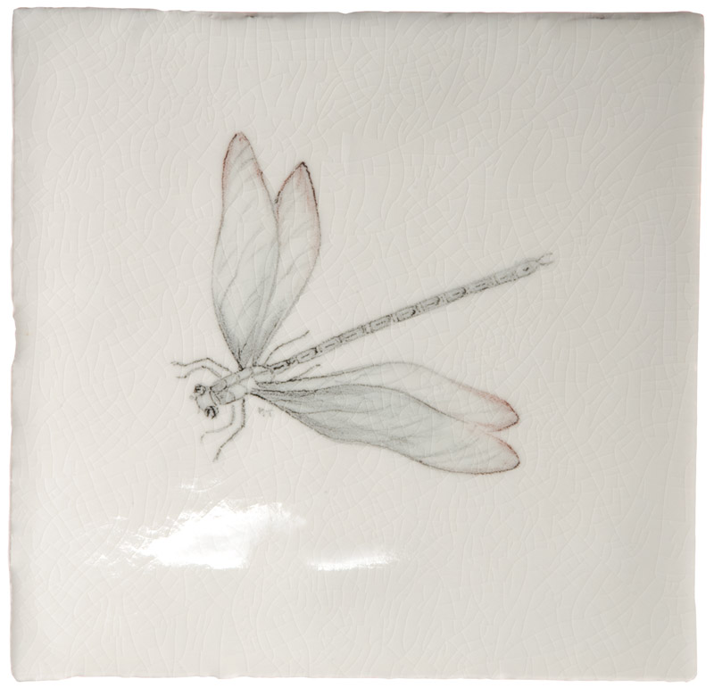 Marlborough Winged Wonders, design 1, Edinburgh Tile Studio