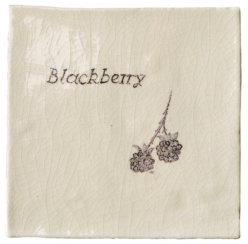 Marlborough Woodland, Blackberry, Edinburgh Tile Studio