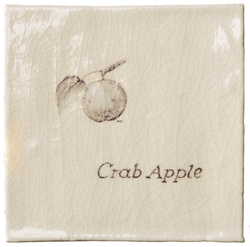 Marlborough Woodland, Crab Apple, Edinburgh Tile Studio