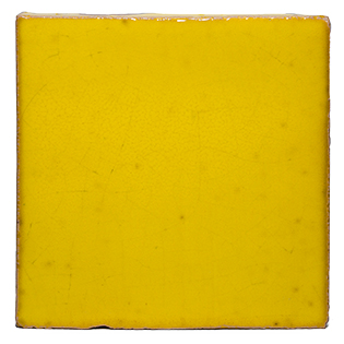 New Terracotta Acid Yellow Special Firing Colour, Edinburgh Tile Studio