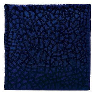 New Terracotta Blue Gaudi Special Firing Colour, Edinburgh Tile Studio