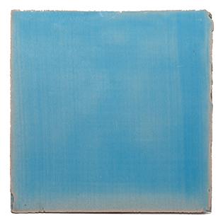 New Terracotta Blue Sky Basic Colour, Edinburgh Tile Studio