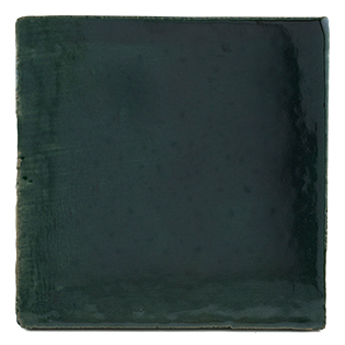 New Terracotta British Racing Green Basic Colour, Edinburgh Tile Studio