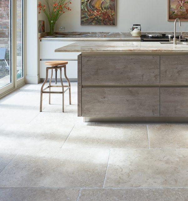 Ca' Pietra carnaby limestone.  Edinburgh Tile Studio