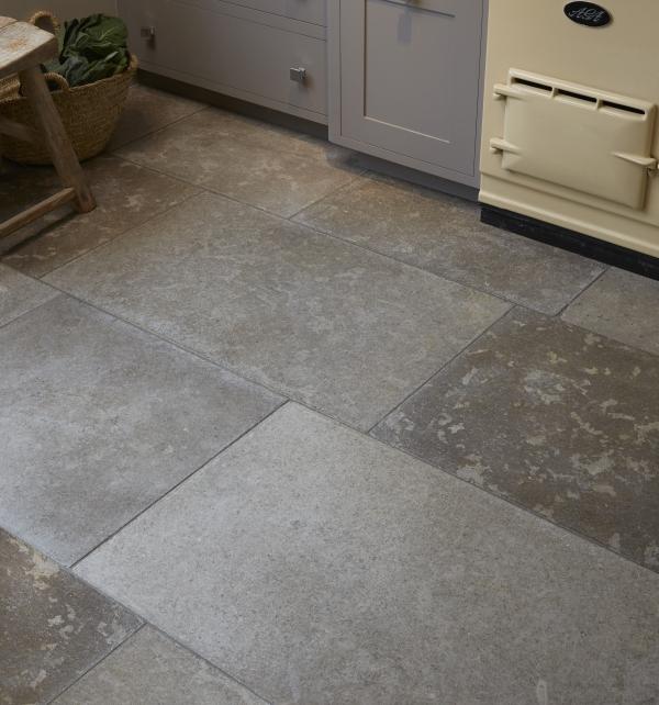 Ca' Pietra Corfe Limestone, tumbled, Edinburgh Tile Studio