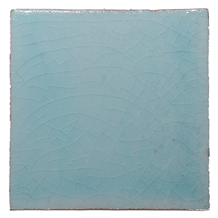 New Terracotta Crystal Blue Waters Basic Colour, Edinburgh Tile Studio