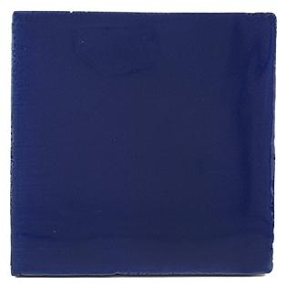 New Terracotta Electric Blue Basic Colour, Edinburgh Tile Studio