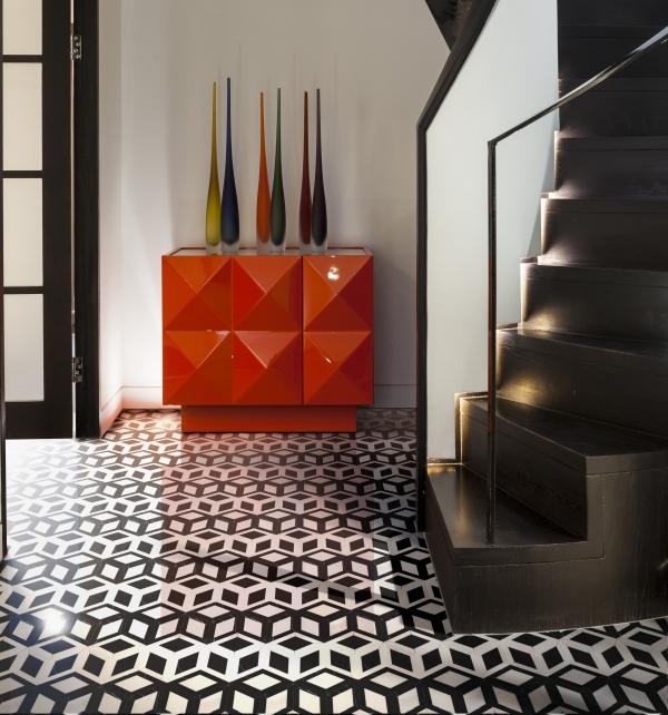 Ca' Pietra Jet Set, New York, room shot, Edinburgh Tile Studio