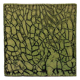 New Terracotta Lime Gaudi Special Firing Colour, Edinburgh Tile Studio