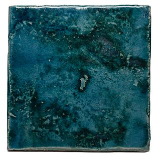 New Terracotta Mystery Teal Oxide Explosion Colour, Edinburgh Tile Studio