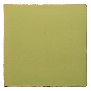 New Terracotta Neon Green Basic Colour, Edinburgh Tile Studio