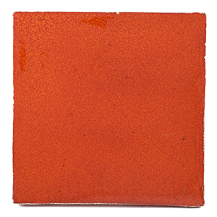 New Terracotta Orange Caviar Special Firing Colour, Edinburgh Tile Studio