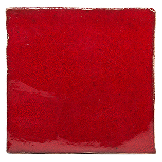 New Terracotta Red Chilli Pepper Special Firing Colour, Edinburgh Tile Studio
