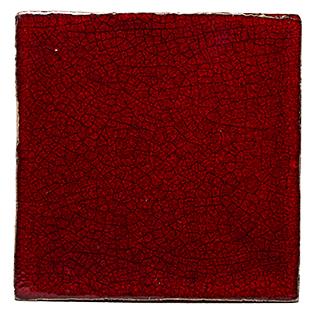 New Terracotta Red Cobra Special Firing Colour, Edinburgh Tile Studio